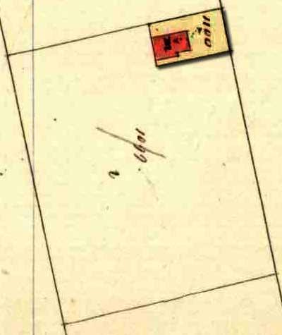 kadasterkaartje 1845