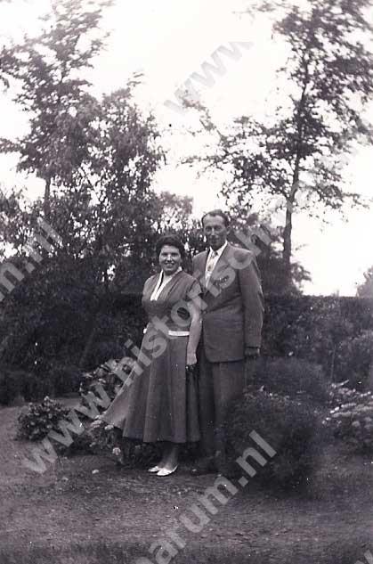 Hendrik Wijkstra en Etje Bergsma