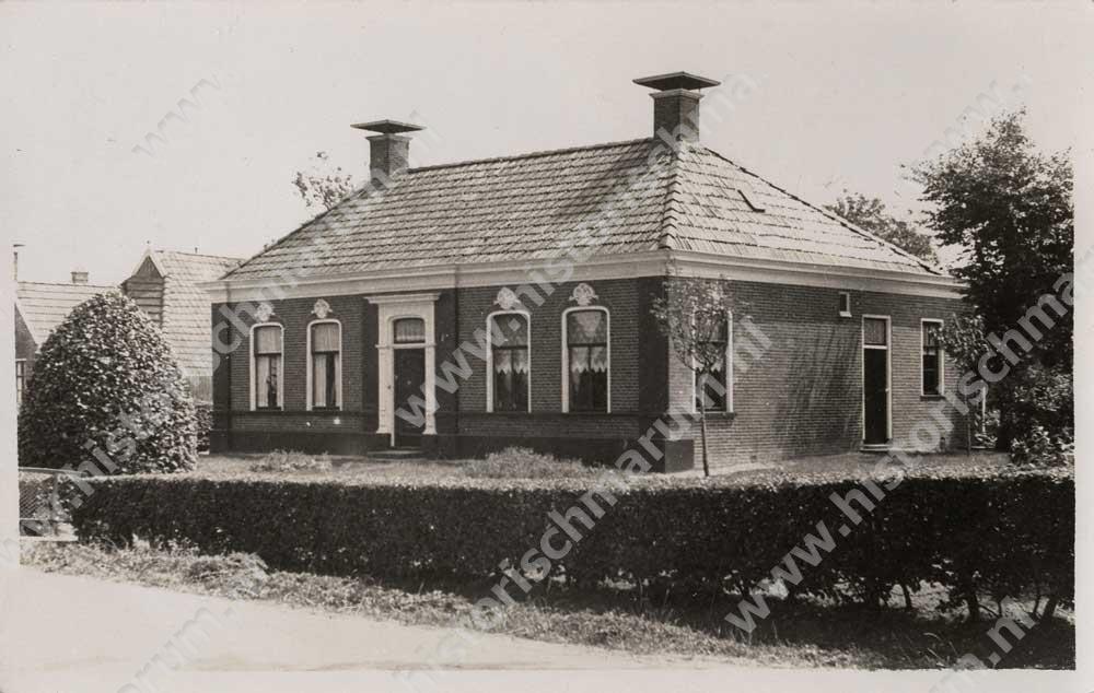 Afgebroken woning Hoornweg 2
