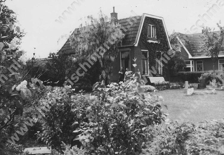 De woning op 4 mei 1965.