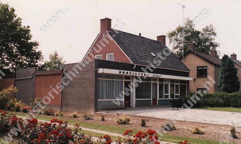 Drogisterij 'De Hoorn' in 1985, kort voor de opheffing.