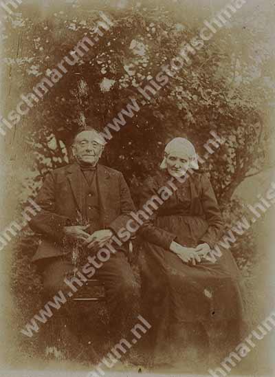 Pieter en Trientje Bergsma-de Boer