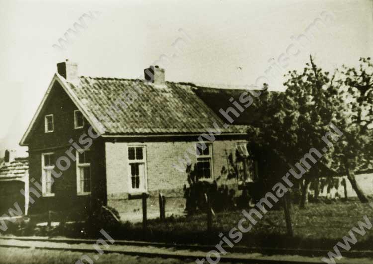 De voormalige woning in de jaren '60 van de vorige eeuw