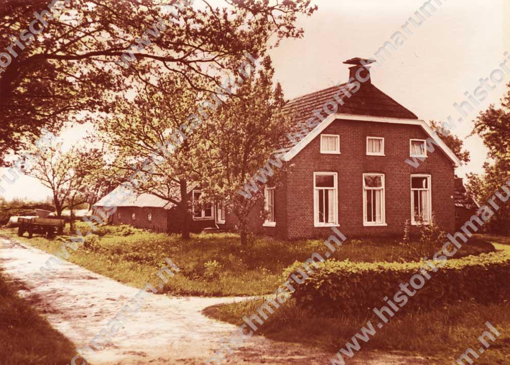 De boerderij omstreeks 1940