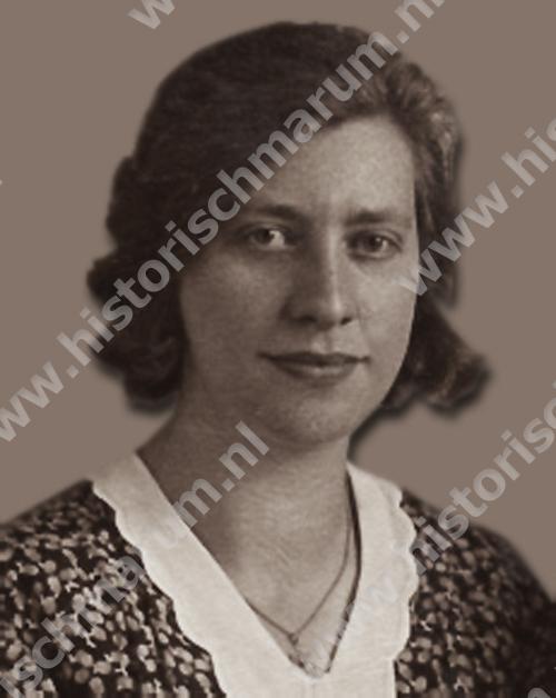 Kastelein Jantje Klaassens (1905-1973), zus van Jakob.
