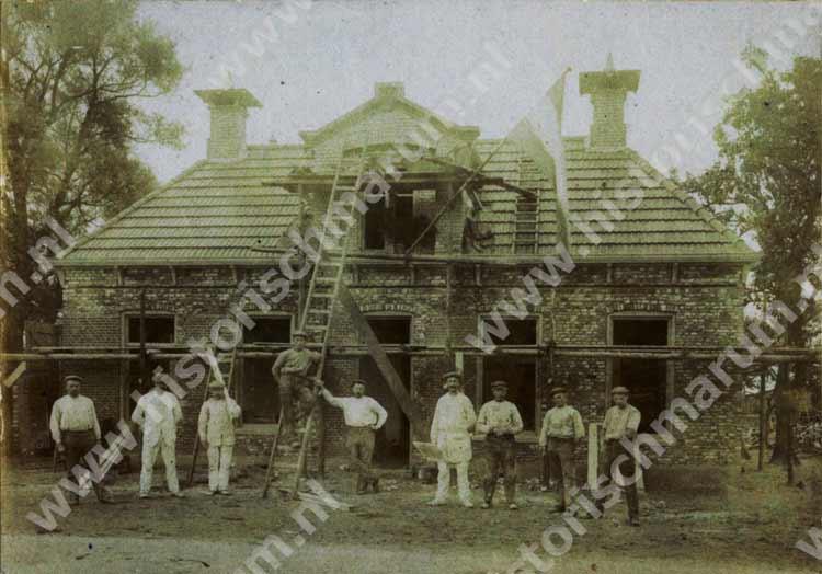De grote verbouwing tot café Klaassens van 1912.