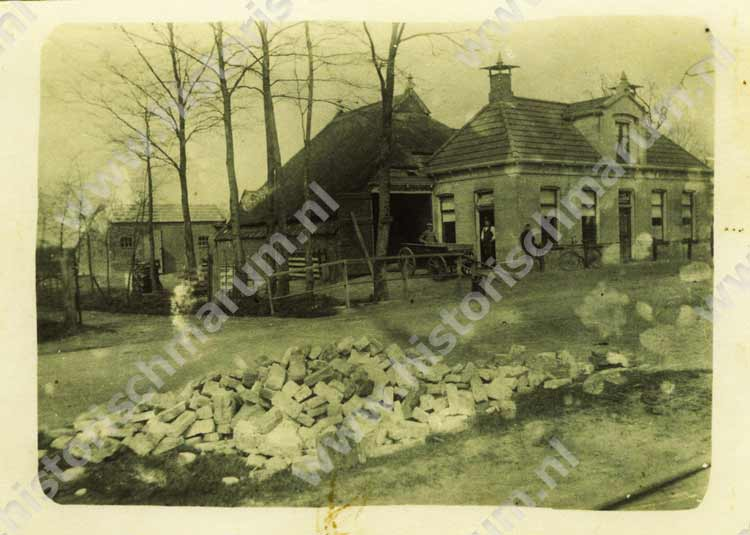 Het café en fourragehandel in 1922.