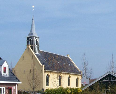 De kerk van Noordwijk