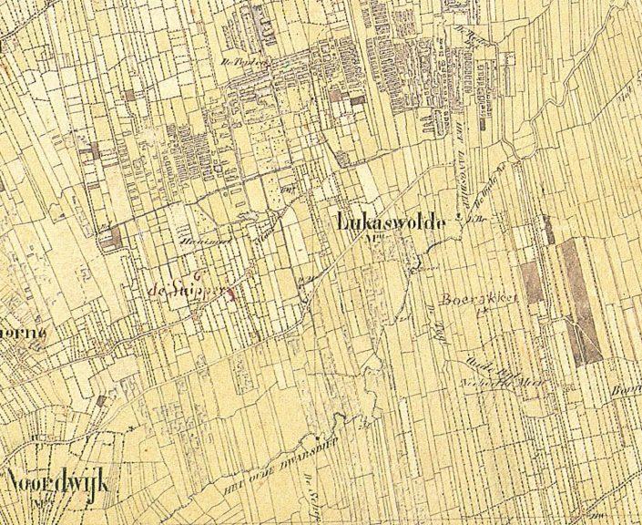 Lucaswolde & Snipperij 1851(te vergroten)