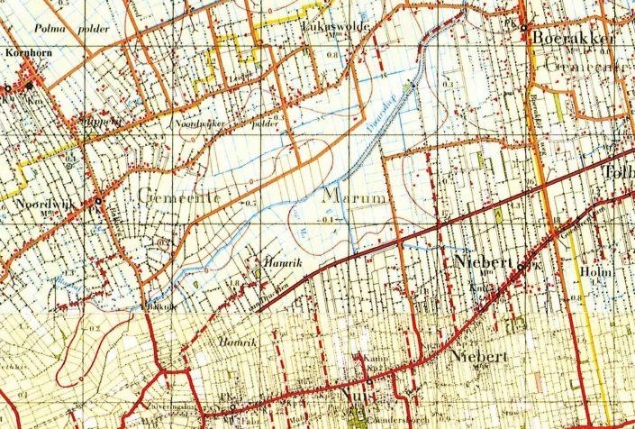 Niebert - Topografische kaart 1959 (te vergroten)
