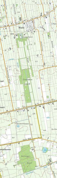 Nuis - Topografische Atlas 1995