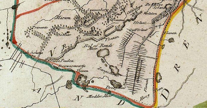 Vredewold Westerdeel - 1791 & BRONNEN BOORN EN SWARTE RYTH = LEECKE...